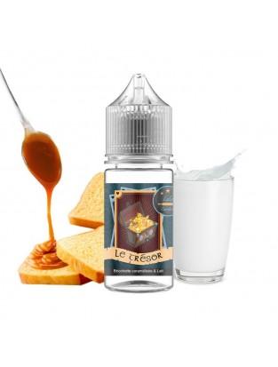 Loloramix Lolo Cardon Le Trésor brioche briochette caramel gourmand concentré e-liquide eliquide 30ml