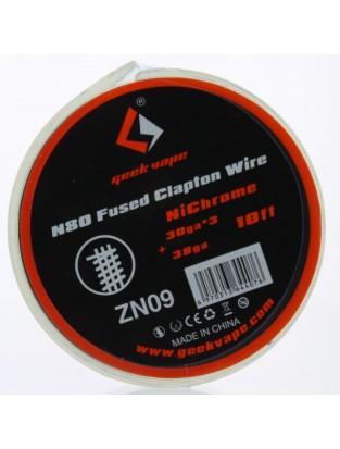 N80 Fused Clapton Wire 30GA*3 + 38GA - Geek Vape