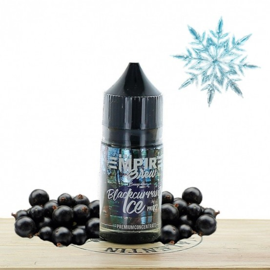 Concentré Blackcurrant Ice 30ml - Empire Brew
