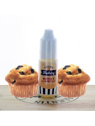 Muffin à la myrtille 10ml - Liquideo