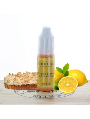 Tarte au citron meringuée 10ml - Liquideo
