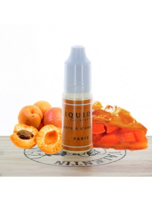 Tarte à l'abricot 10ml - Liquideo