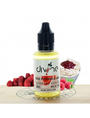 Concentré Rice Pudding & Jam 30ml - Divine