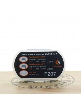 Boîte de 8 coils N90 Fused Clapton - GeekVape