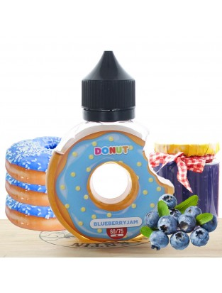 BlueBerry Jam 60ml - Donut Juice