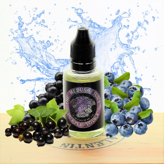 Concentré Purple Vodka 30ml - Medusa Juice