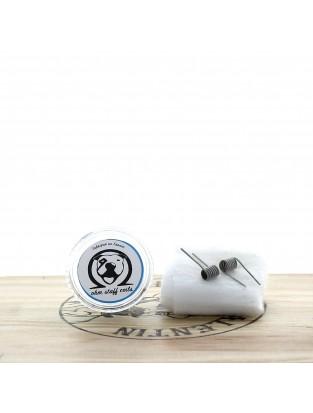 Paire de Coils Nano Alien ni80 29x2/40 7T 3mm
