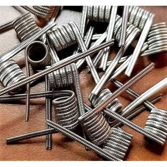 Paire de Coils Staggered 2 âmes ni80 27_36x2/36 5T 3mm