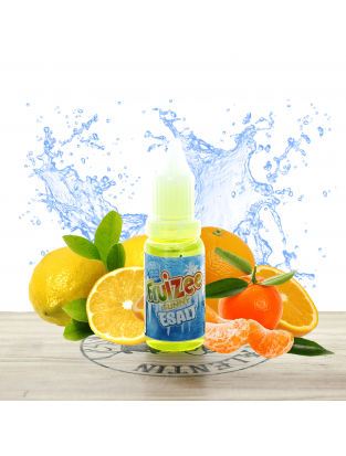 Citron Orange Mandarine 10ml (sel) - Fruizee