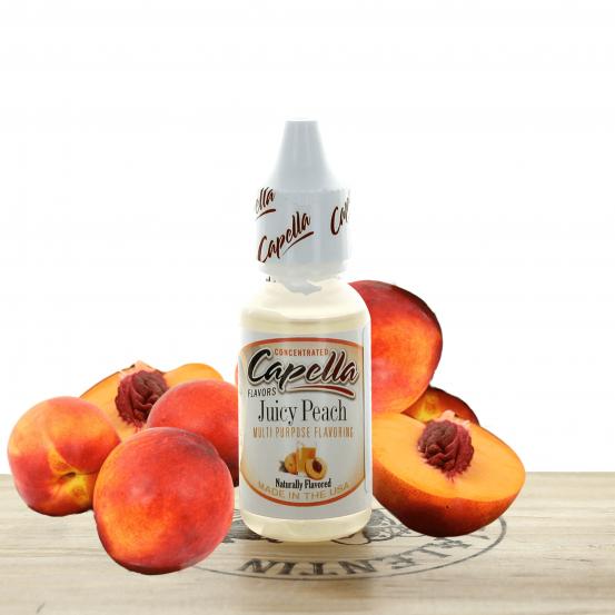Concentré Juicy Peach 10ml - Capella