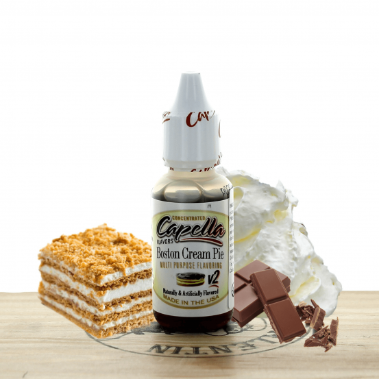 Concentré Boston Cream Pie 10ml - Capella