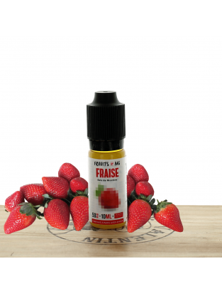 Fraise (sel) 10ml - Fruuits by Fuu