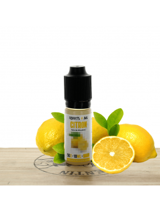 Citron (sel) 10ml - Fruuits by Fuu