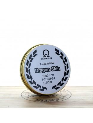 Bobine de fil fait main Dragon Skin Wire - Ohm Science
