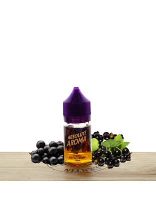 Concentré Double Blackcurrant 30ml - Absolute Aroma