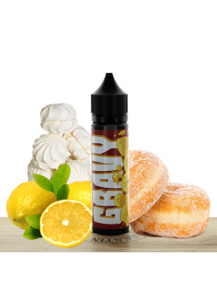Lemon meringue Gravy Rings 50ml - Nom nomz