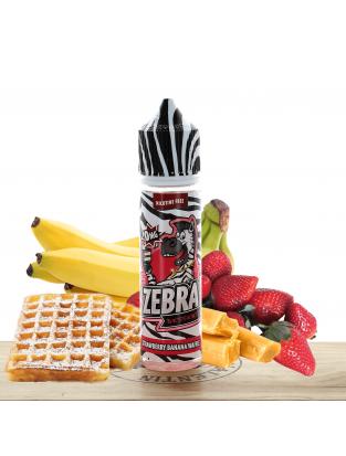 Strawberry Banana Waffle 50ml - Zebra Juice