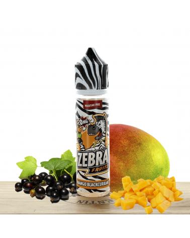 Mango Blackcurrant 50ml - Zebra Juice