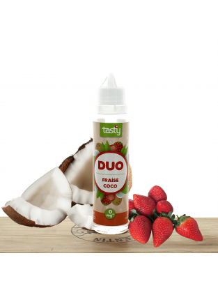 Duo Fraise Coco 50ml - Tasty