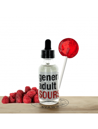 Raspberry 60ml - Generic Adult Sours