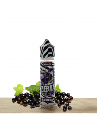 Zillionz Blackcurrant 50ml - Zebra Juice