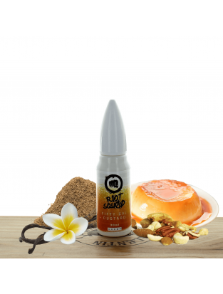 Concentré 50 Cal Custard 30ml - Riot Squad