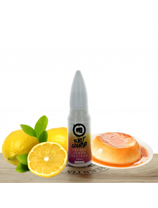 Concentré Loaded Lemon Custard 30ml - Riot Squad