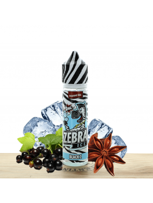 Ice Black Z 50ml - Zebra Juice