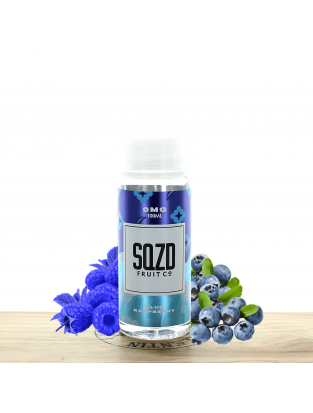 Blue Raspberry 100ml - SQZD Fruit Co
