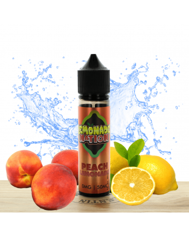Peach 50ml Lemonade Nation