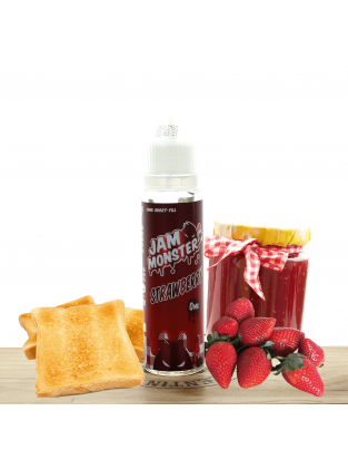 Strawberry 50ml - Jam Monster