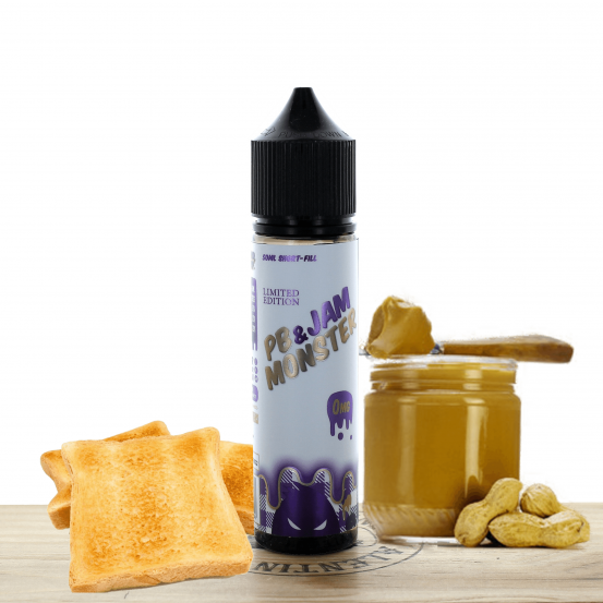 Peanut Butter and Jam 50ml - Jam Monster