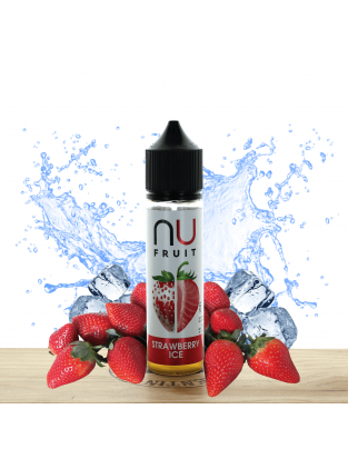 Strawberry Ice 50ml - NU Fruit