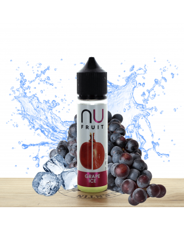 Grape Ice 50ml - NU Fruit