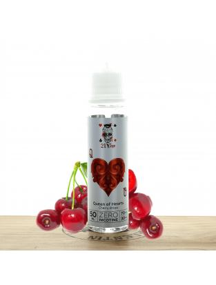 Queen Of Hearts Cherry Drops 50 ml - 21 Vape