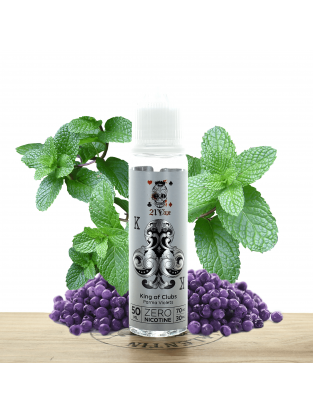 King of Clubs Parma Violets 50 ml - 21 Vape