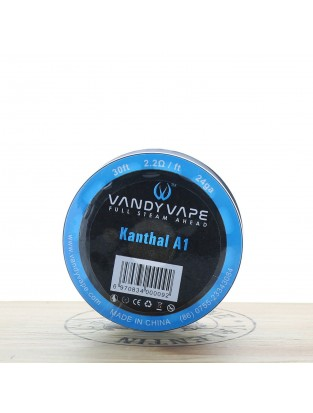 Kanthal A1 24ga 30ft - Vandy Vape