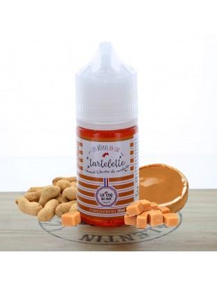 Concentré Tartelette Caramel Beurre De Cacahuète 30ml - Le Coq qui Vape