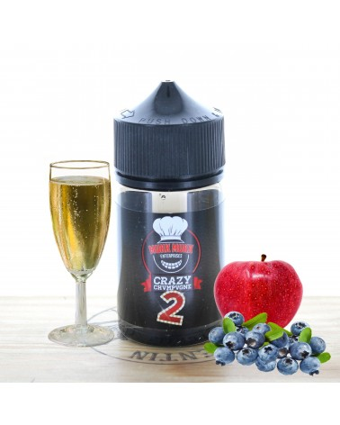 Crazy Champagne 50ml - Crazy Juice