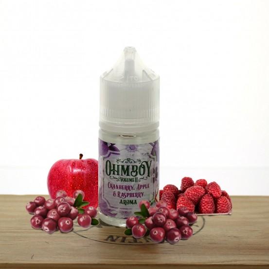 Concentré Cranberry, Apple & Raspberry 30ml - Ohm Boy